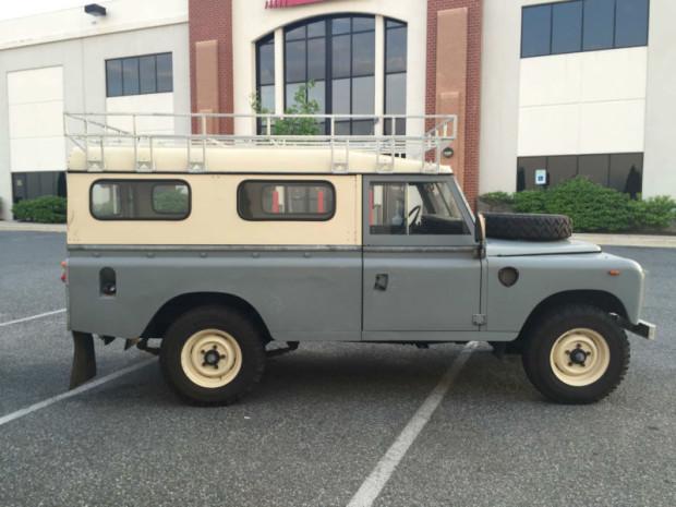 Land Rover Bethesda >> autoliterate: Battleship for Sale: 1982 LWB Land Rover Series III