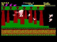 Wonder Boy versión Amstrad CPC