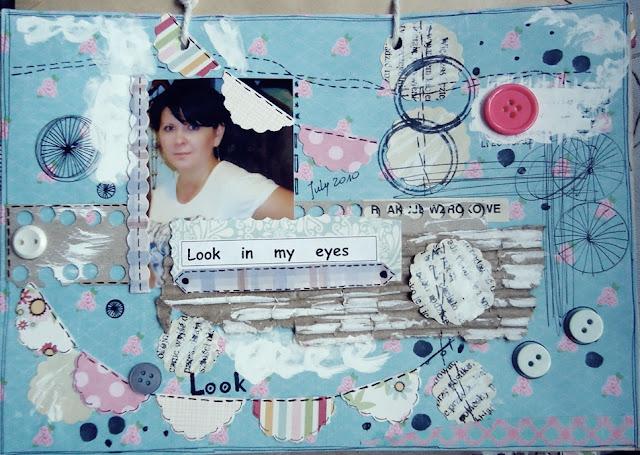 scrap na kopercie, karta z albumu
