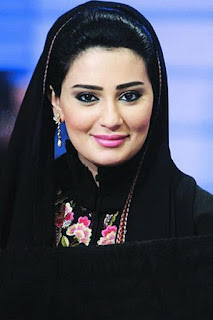 ندى الشيباني (Nada Al Shaibani)، مذيعة قطرية