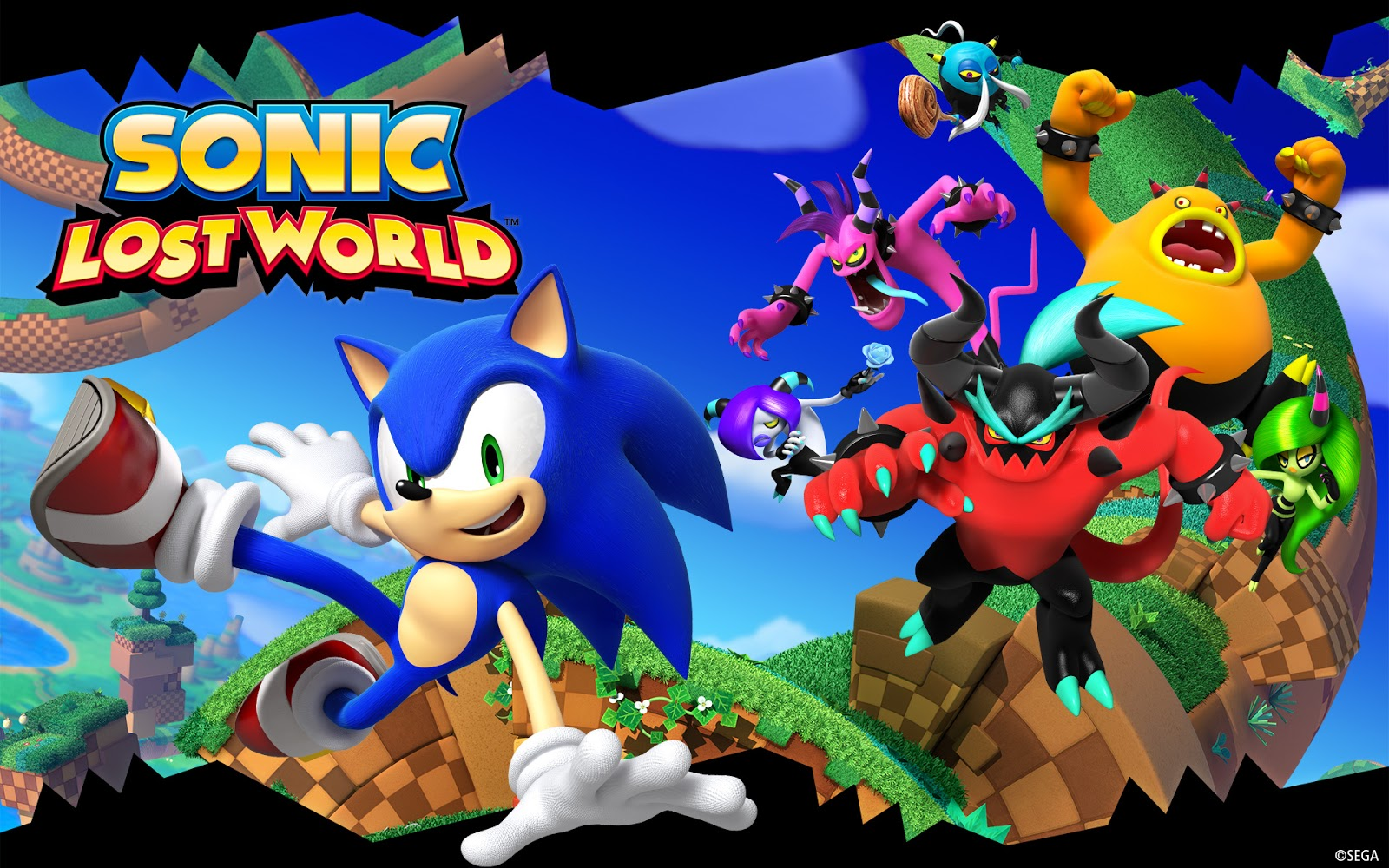 Sonic Lost World 3ds : Gaming rocks on favorite tunes insert your
