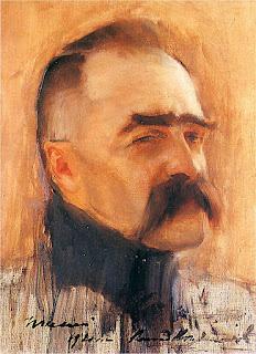 Józef Piłsudski - mal. K. Krzyżanowski
