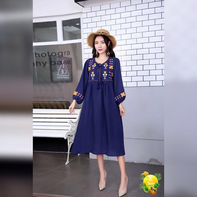 Shop ban vay maxi di bien tai Giap Bat