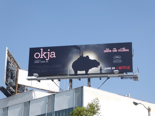 Okja Netflix film billboard
