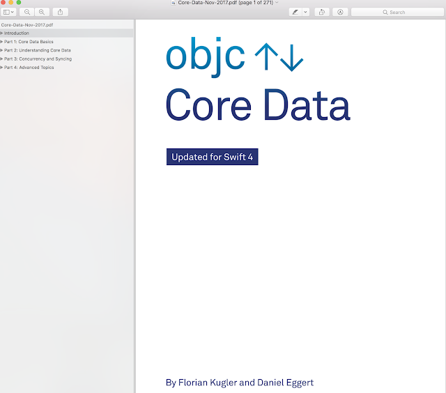 Core Data - Core Data best practices by example, from persistency to multithreading and syncing - Objct.io books