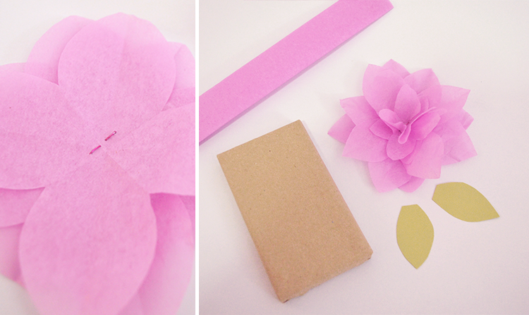 Queen Of All You See Spring Diy Floral Gift Wrap
