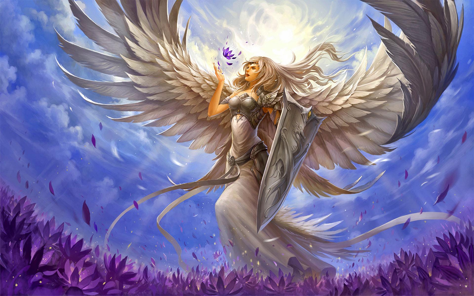 Papel De Parede Anjos Guerreiros Hd