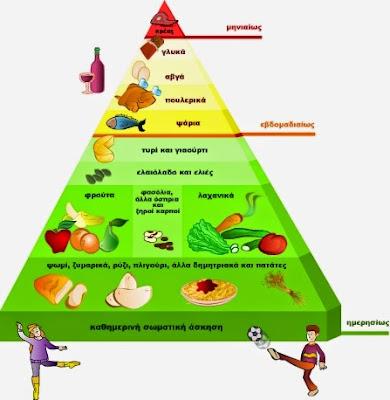 Αποτέλεσμα εικόνας για τροφική πυραμίδα