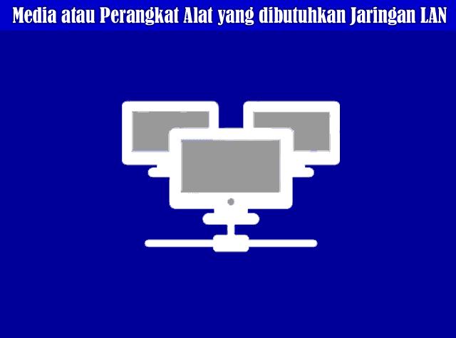 Media atau Perangkat Alat yang dibutuhkan Jaringan LAN