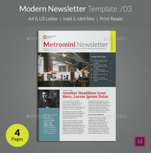 8. Modern Newsletter Template v03