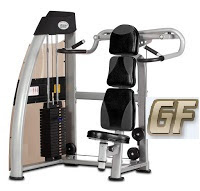 shoulder press alat fitnes