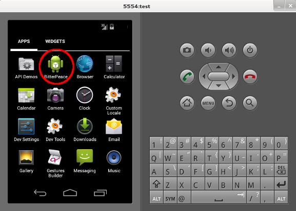 How to setup an Android phone emulator under Kali Linux and
