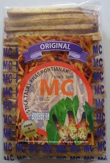 camilan stick talas MC khas kota Pontianak
