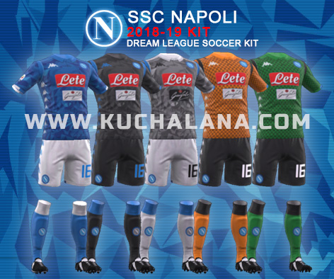 SSC Napoli 2018/19 Kit