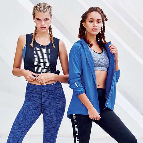 ropa deportiva para mujer de Primark colección 2017