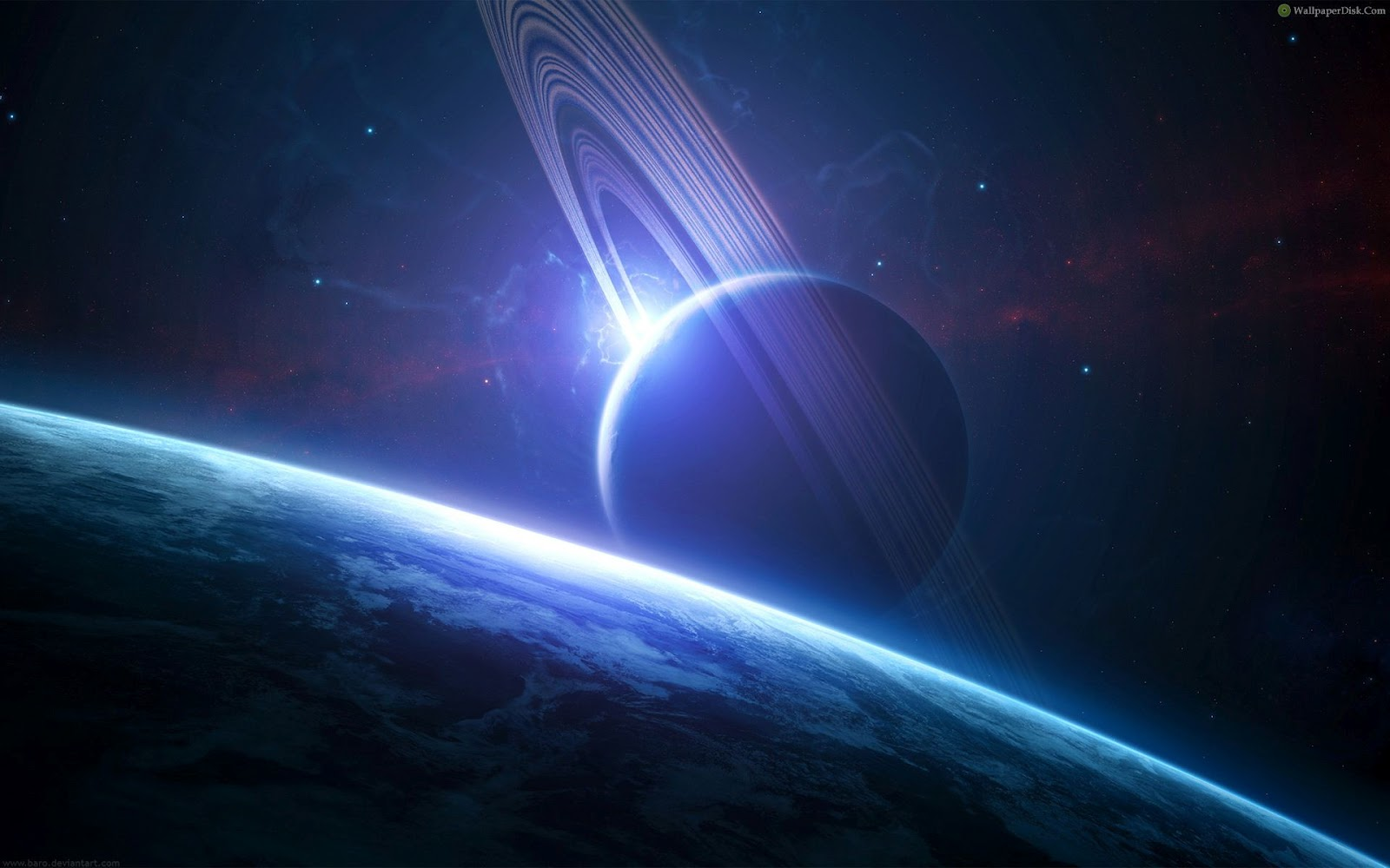 Best Outer Space Planet Scenery | Okay Wallpaper