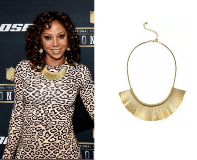 Holly Robinson Peete in Stella & Dot's Essential Fringe Necklace