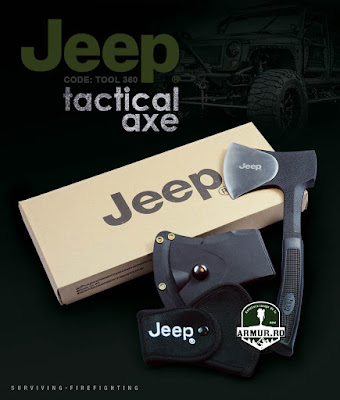 Topor Tactic Jeep Axe Supravietuire Teaca