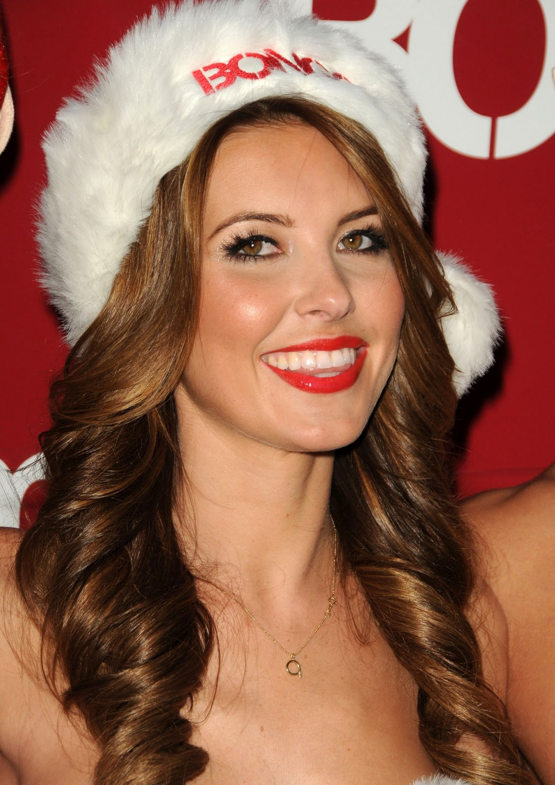 Girl With Wallpaper Dress Spicy Snap Audrina Patridge In Christmas Dress