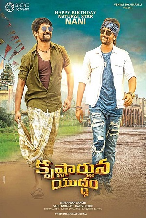Krishnarjuna Yuddham (2018) 350Mb Full Hindi Dubbed Movie Download 480p HDRip thumbnail