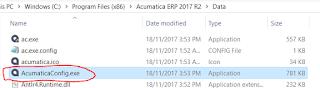 Acumatica Configuration Wizard