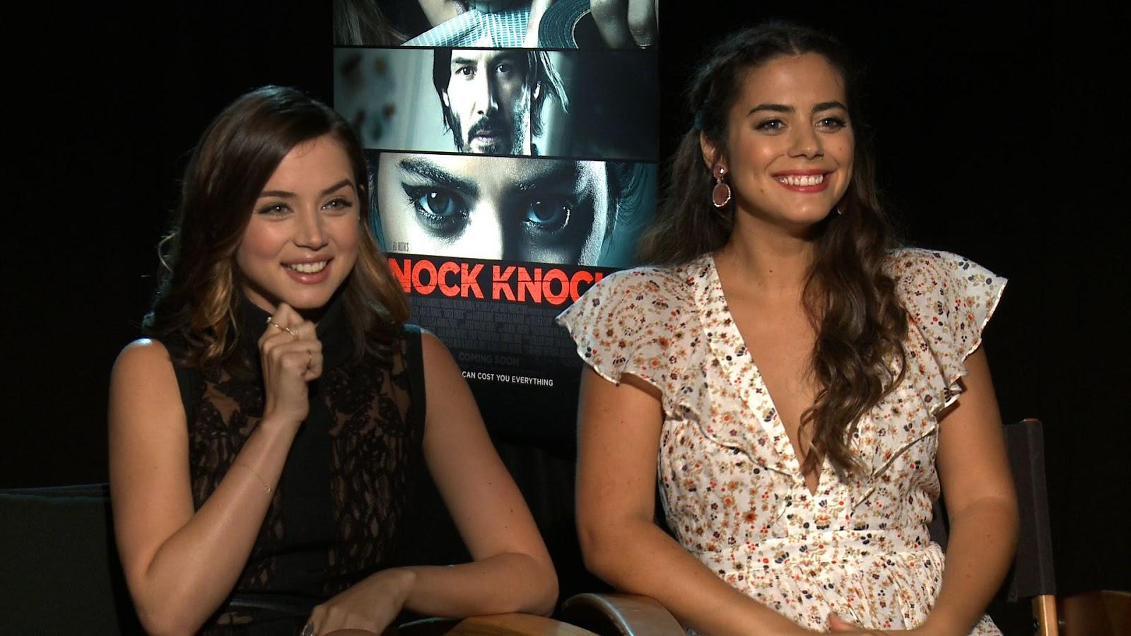 Ana De Armas Lorenza Izzo Knock Knock 2015 Stock Photo: Video Interview: Lorenza Izzo And Ana De Armas Talk KNOCK