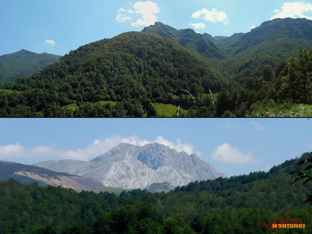 Vista al valle del río Cuevas y Los Fontanes