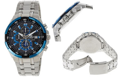 Casio EX190 Edifice Chronograph Watch - For Men