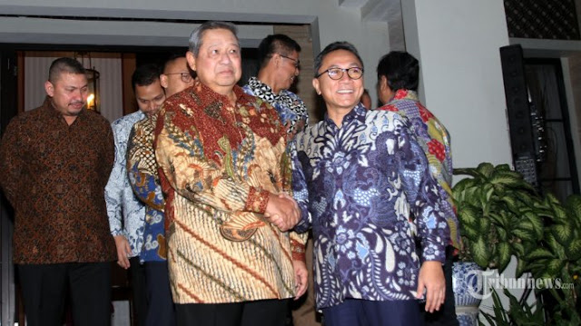 Sambut Kunjungan Zulkifli Hasan, SBY: Salam Barokah