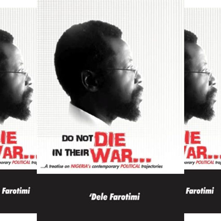 Dele Farotimi's Book: Do Not Die in Their War - Detailed Analysis of Various Political Issues in Nigeria - 391 Pages