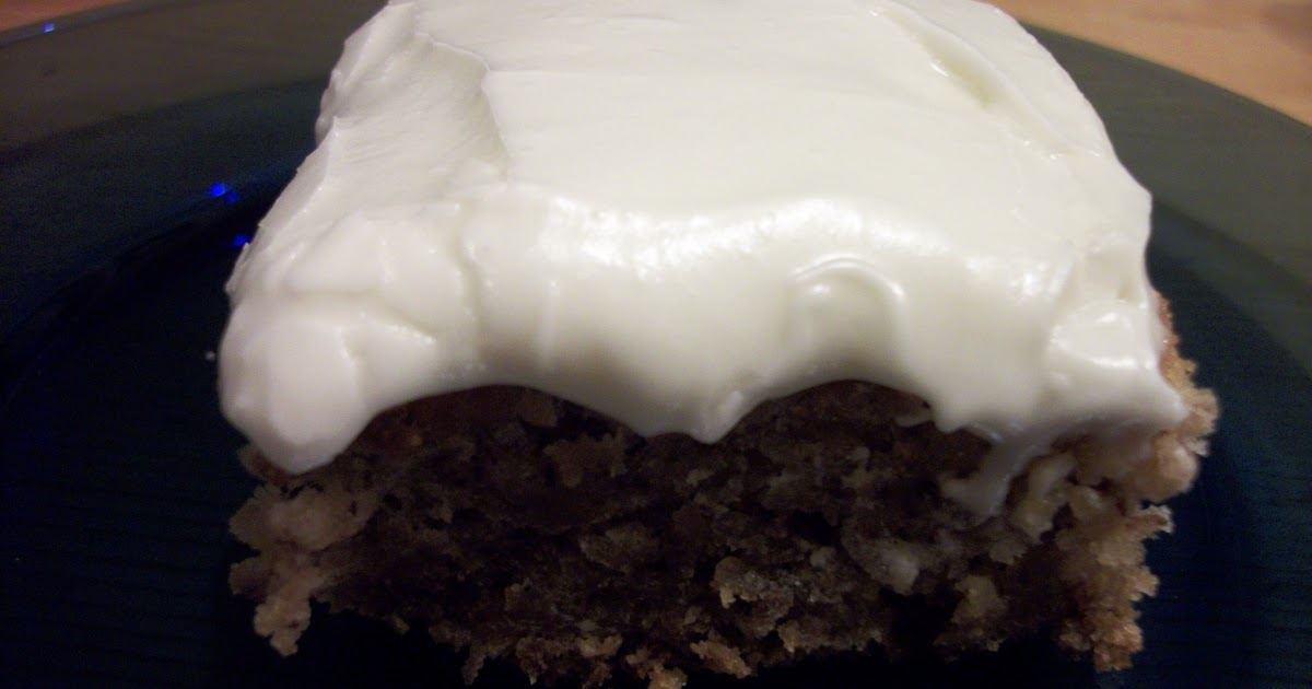 Moist Lemon Cake With Sour Cream And Cream Cheese Frosting