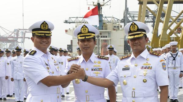 Jabatan Komandan KRI Banda Aceh Diserahterimakan