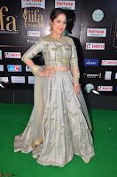 Gouri Munjal in a Tight Pista Coloured Ghagra Choli at IIFA Utsavam Awards 010.JPG