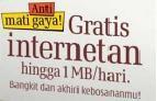 Internet Gratis Kartu GMS 3