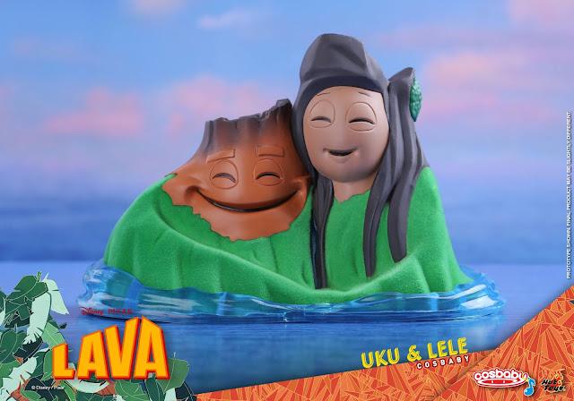 Pixar Lava Uku and Lele Cosbaby