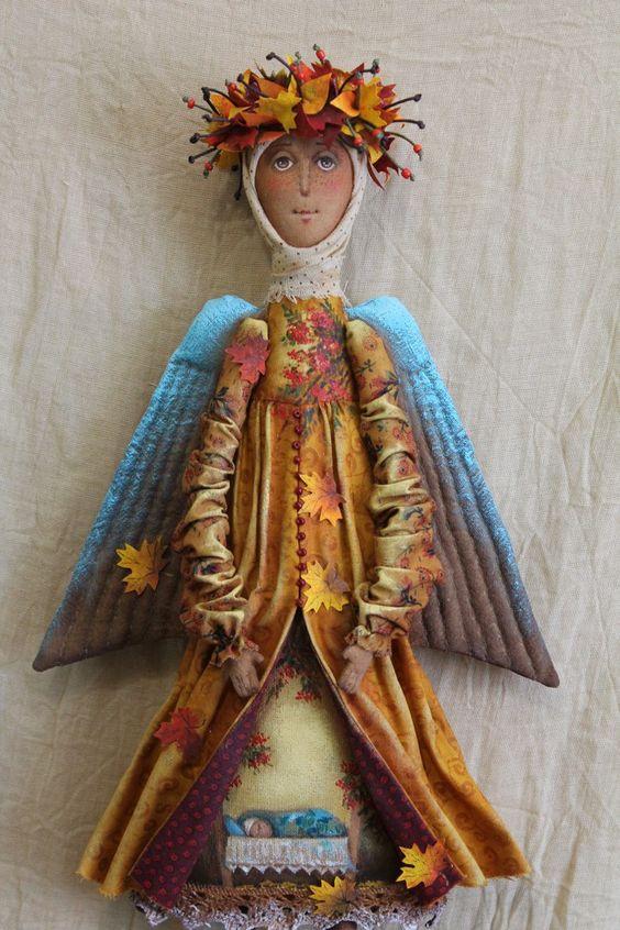 anioły szmaciane
