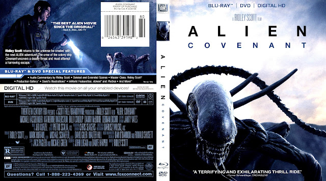 Alien Covenant Bluray Cover