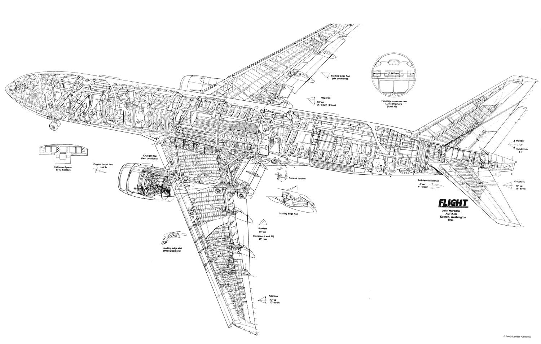 airbus a380-800 cutaway drawing | travel air | pinterest ... boeing 777 diagram #1