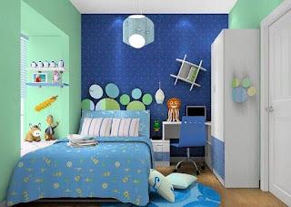 Koleksi Kamar Tidur Minimalis Modern Anak Laki-laki