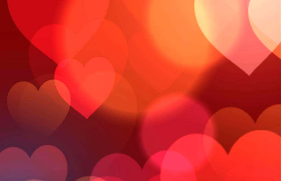 Valentine Heart Background Wallpaper Gold Wallpapers