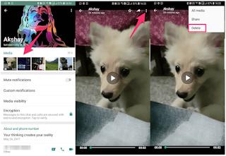 Hapus Foto & Video Dari WhatsApp Tanpa Menghapus Dari Galeri