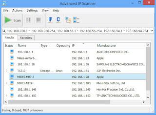 Download Advanced IP Scanner 2017