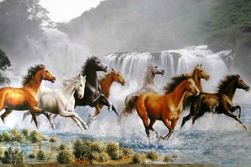Tranh con ngựa