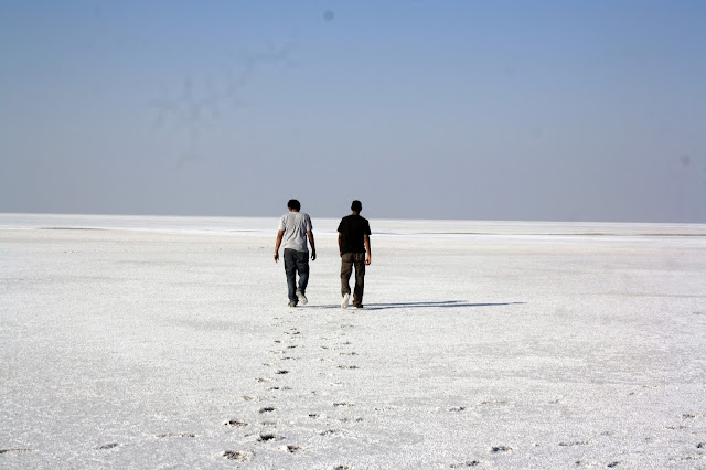 Rann of Kutch, White Desert, Gujarat, white, beautiful, salt marsh, no man's land, alone, walking