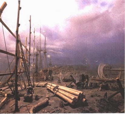 Деревянное кораблестроение