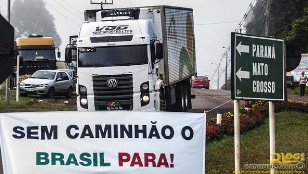 Temer não cumpre promessa e caminhoneiros farão nova greve - Boato