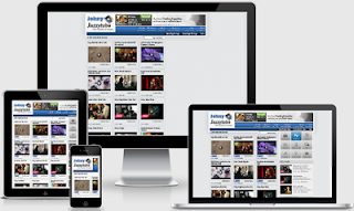 Johny Jazzytube SEO Magazine Blogger Template