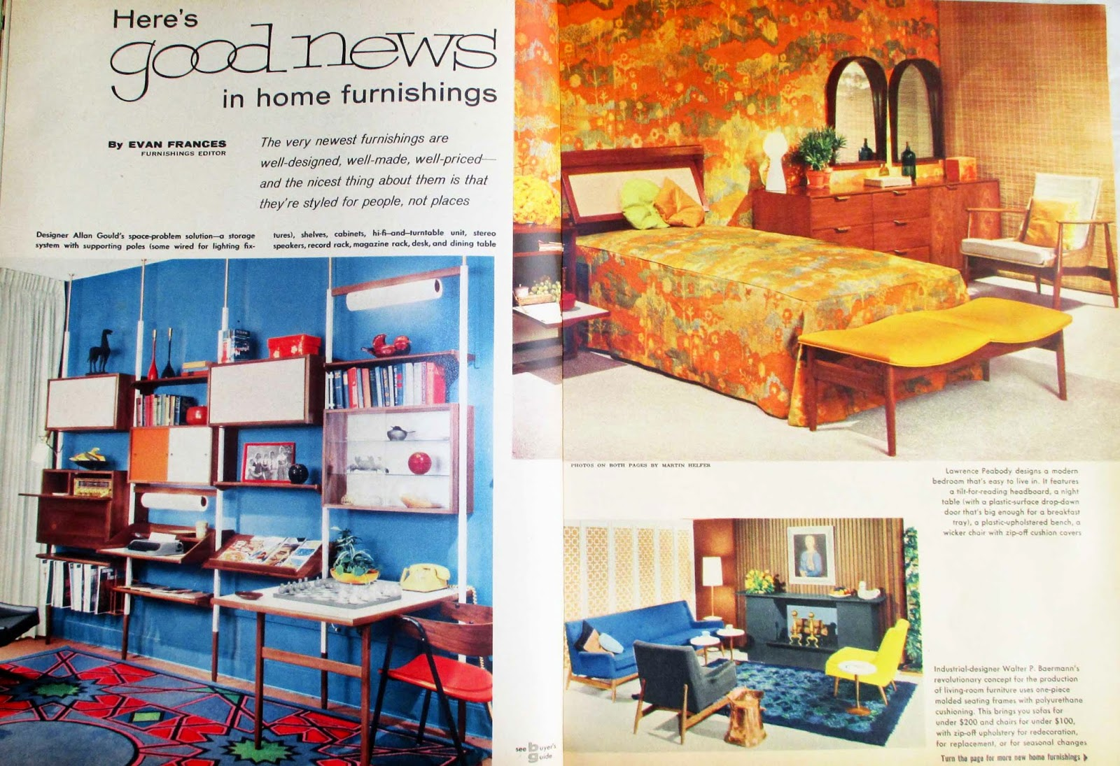 The Literate Quilter: Mid Century Modern Decorating and ...