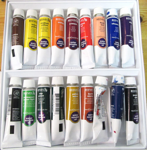 water soluable oil paints