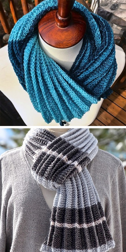 Arisaid Pleated Scarf - Free Pattern